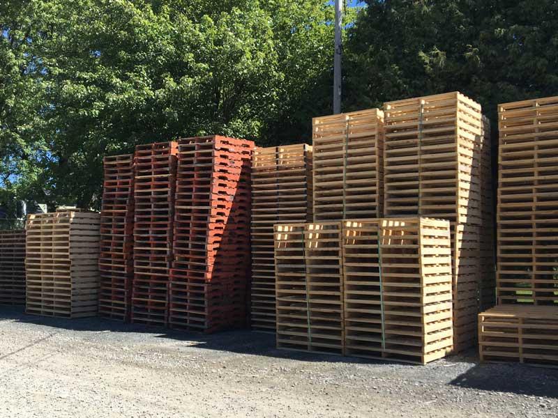Les Entreprises JAP Palettes de bois sur mesure Roxton Pond # Palette En Bois A Donner